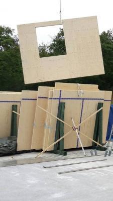 Tecnica antisismica ILLE Case in legno - cantiere