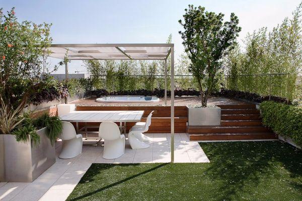 Giardino pensile sul terrazzo for Progettare un terrazzo giardino
