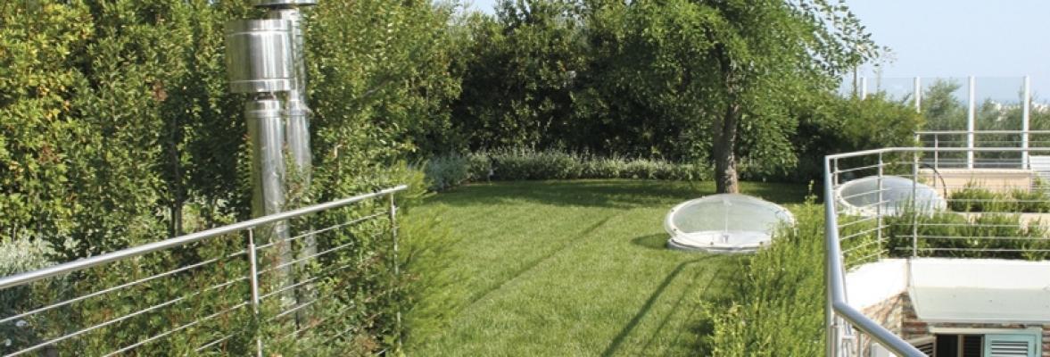 Giardini pensili realizzati da Optima