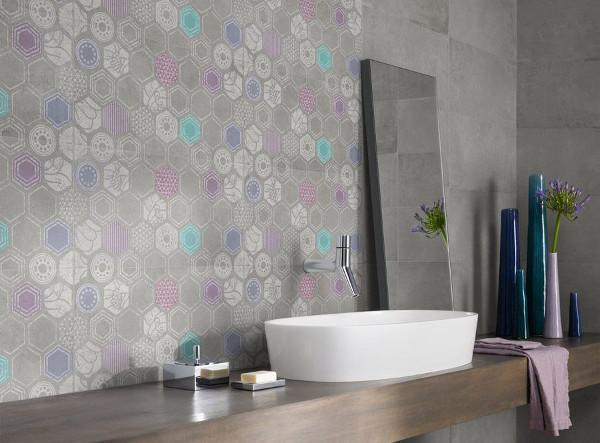 Ristrutturare il bagno con i nuovi materiali: piastrelle antimicrobiche di Panaria