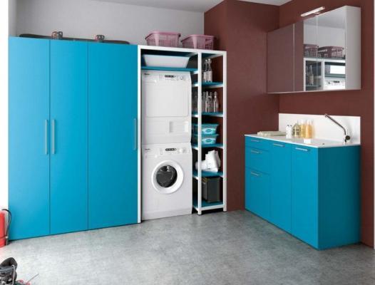 Ristrutturazione bagno - Mobile porta lavatrice ikea ...