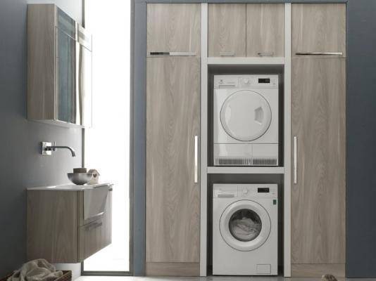 Ristrutturare il bagno: inserire la lavanderia con il sistema W&D di Arcom