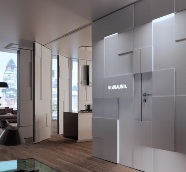 Progettazione di un mini appartamento for Appartamento design interni