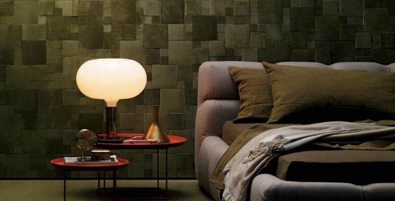 Rivestimenti pareti in pelle per arredare un miniappartamento