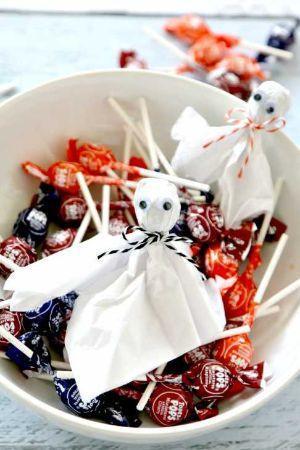 Lecca lecca per Halloween progetto di Momdot.com