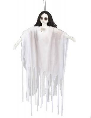 Dama bianca zombie luminosa per decorazione di Halloween sul sito vegaooparty.it
