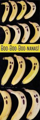 Tutorial per decorare banane ad Halloween di adesignerlife.net