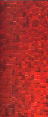 Rivestimento, progetto tavernetta , mosaico in pelle di Studioart