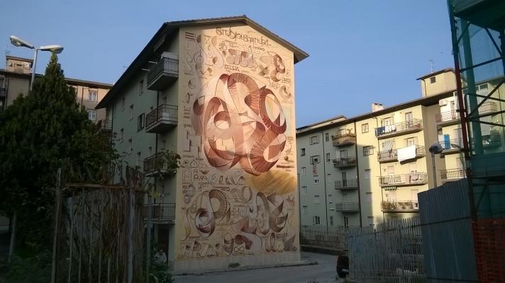 Street Art Dado Campobasso