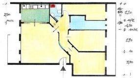 Soluzione progettuale per un appartamento di 100 mq