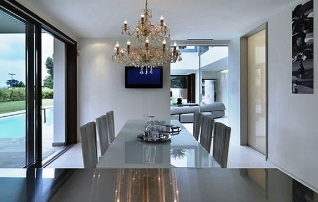 Appartamento 100 mq idea di progetto for Piani di appartamenti moderni