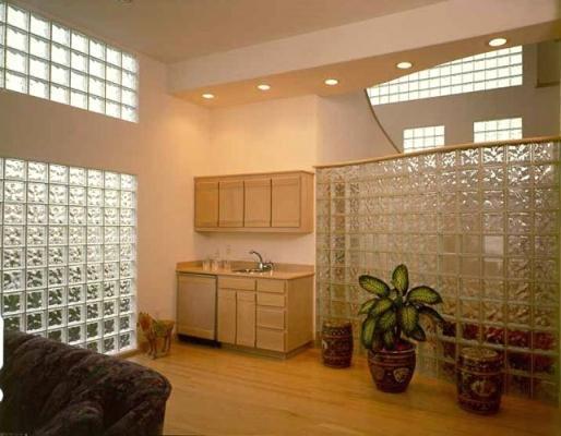 Appartamento personalizzato da pareti di Vetromattone