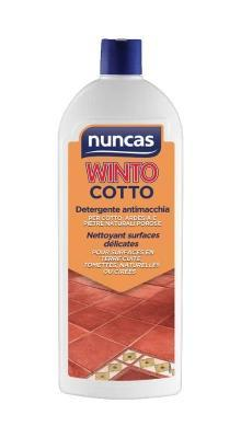 Detergente per cotto WInto Cotto di Nuncas