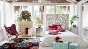Un mix & match di complementi per l'arredo in stile boho chic