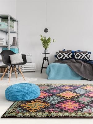 Tappeto Casa Multicolor stile boho chic su Benuta.it