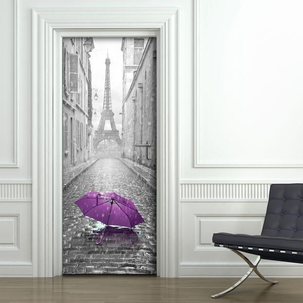 Cover adesive per decorare le porte di Dekoidea