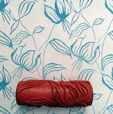 Rullo decorativo fai da te motivo lilium di Cri-lla