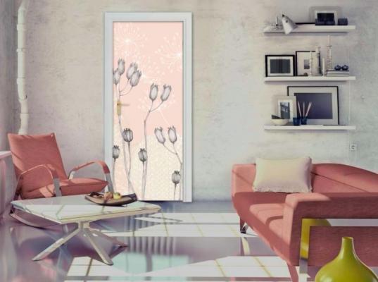 Decorare le porte di casa for Abbellire parete