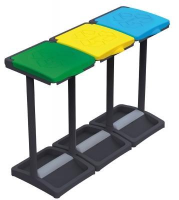 Tris portasacco riciclo su Amazon