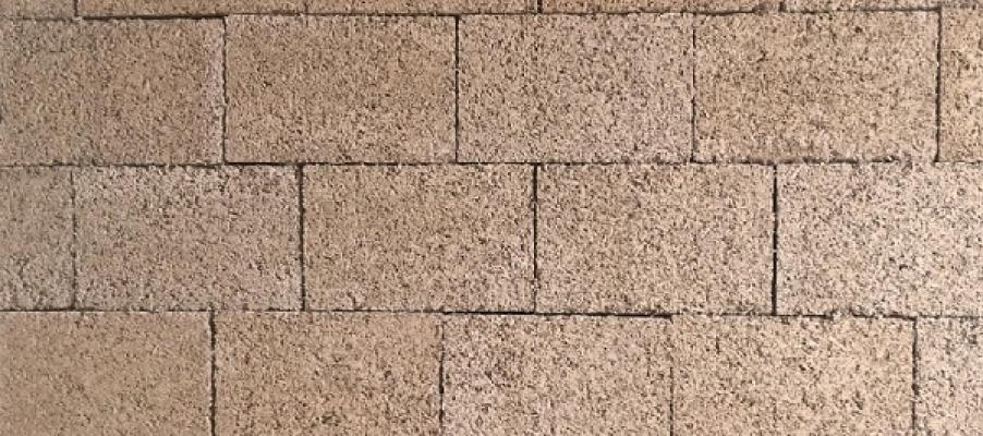 Blik mattone in canapa di Calce Canapa