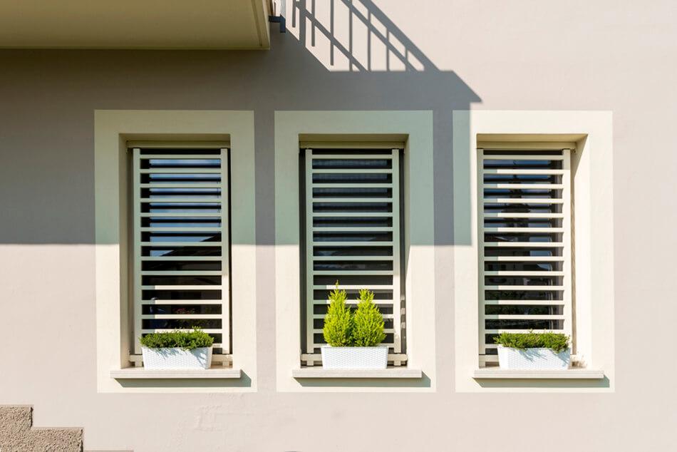 Inferriate per finestre di design