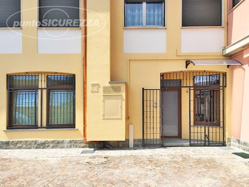 Ingresso grate di sicurezza per porte e finestre