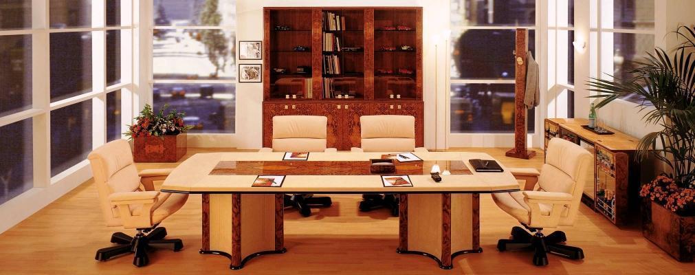Arredo ufficio presidenziale progetto for Dimensioni mobili ufficio