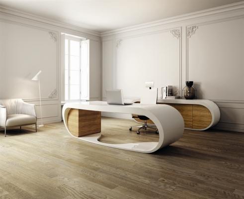 Arredo ufficio presidenziale ultramoderno di Office Planet Google Desk
