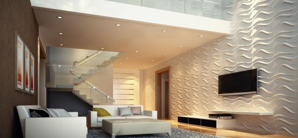 Foto parete decorativa salotto for Mattonelle per salone