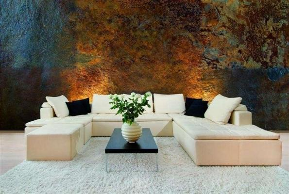 Parete decorativa effetto metallo ossidato Roxidan di San Marco