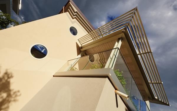 Villa Monica, casa ecologica ad impatto zero realizzata in legno Xlam da Sistem (foto di Pini Paride)