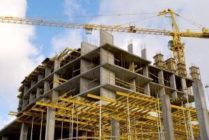 Asta casa in costruzione