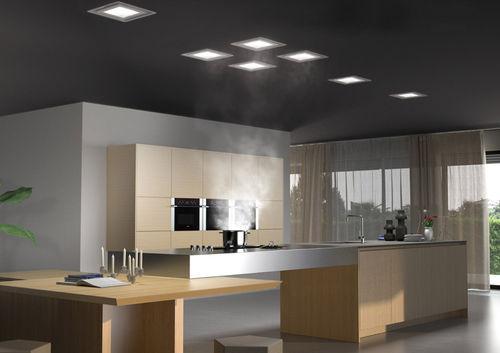 Da garage ad appartamento: la cappa in cucina a scomparsa, ditta Frecan