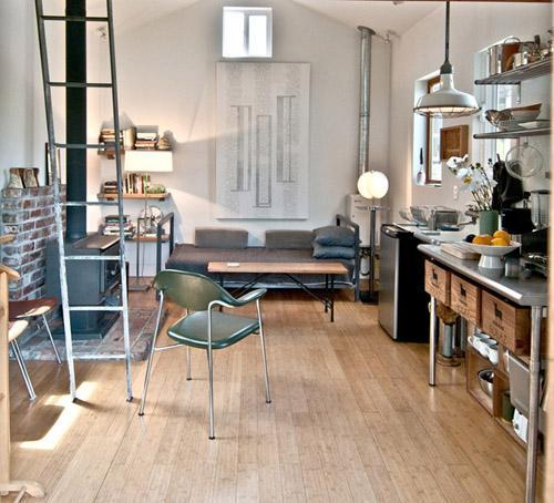 Da garage a mini-house: un progetto di Michelle de la Vega