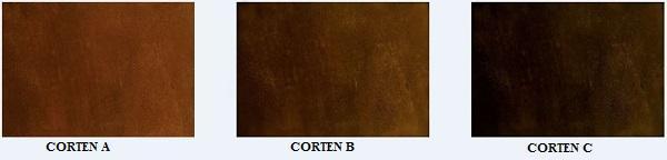 Porte effetto Corten: Molteni Vernici: Corten A-B-C