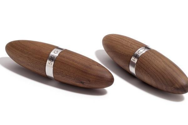 Attrezzi fitness domestici pesi in legno robusto Hock
