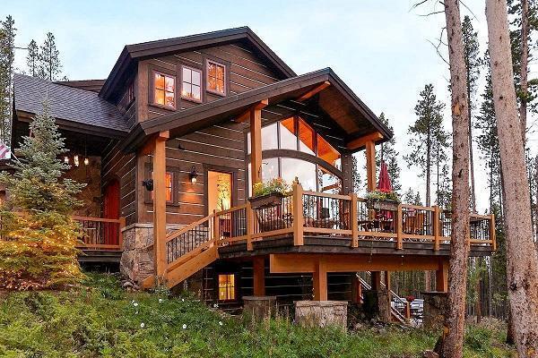 Casa in montagna luxury