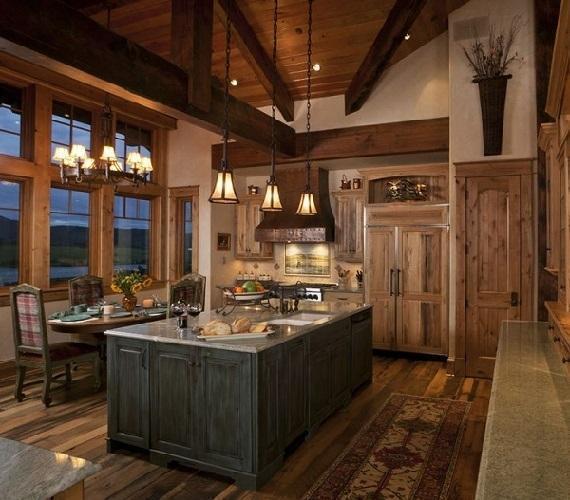 Foto casa in montagna for Arredamento case rustiche