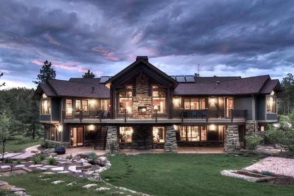 Casa in montagna da Pinterest