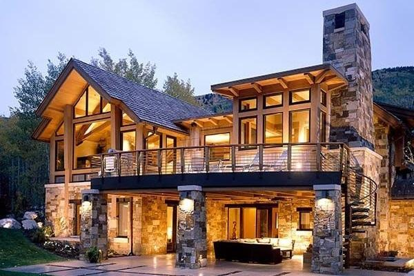 Foto casa in montagna for Interni casa moderna foto