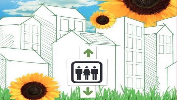 Ascensore fotovoltaico: Gruppo Ceam EvoluxEco
