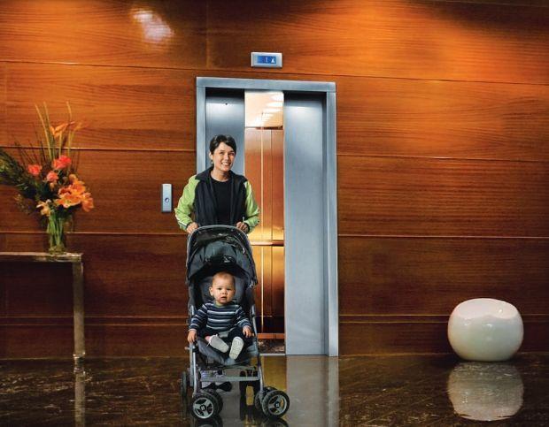 Modernità dell'ascensore fotovoltaico di OTIS