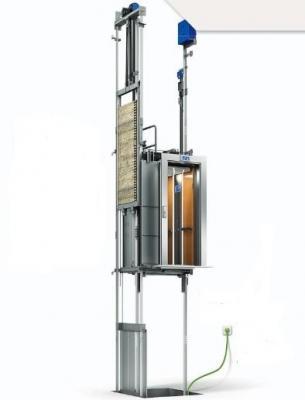Ascensore fotovoltaicorender : OTIS, Gen2 Switch