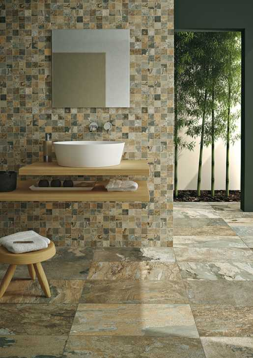 Ristrutturazione di un bagno rivestimenti  di Ceramica Campani