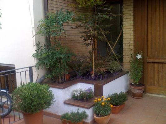 Ampliare un bagno sfruttando una fioriera esterna: stato dei luoghi