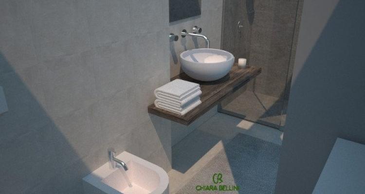 Ampliare un bagno sfruttando una fioriera esterna: vista