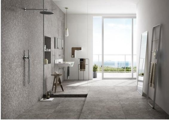 Ristrutturare il bagno: rivestimenti di Edilgres