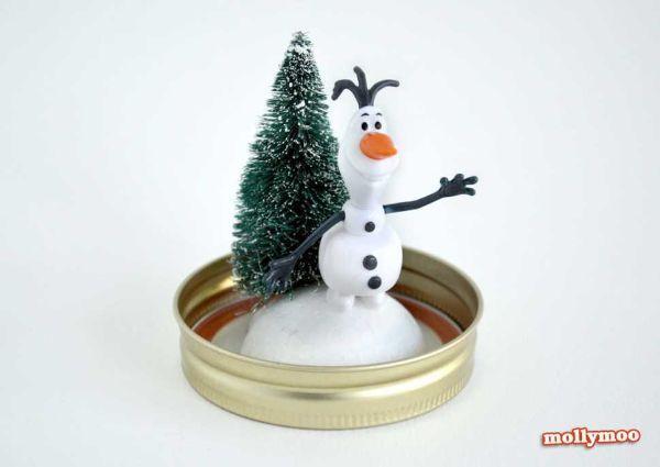 Prima fase realizzazione boule a neige di Mollymoocrafts.com