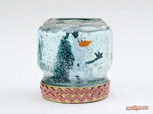Progetto boule a neige ultimato idea di Mollymoocrafts.com