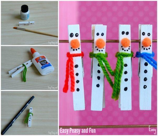 Progetto decorazioni natalizie per bambini su Easypeasyandfun.com